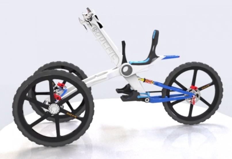 盤點未來高科技自行車