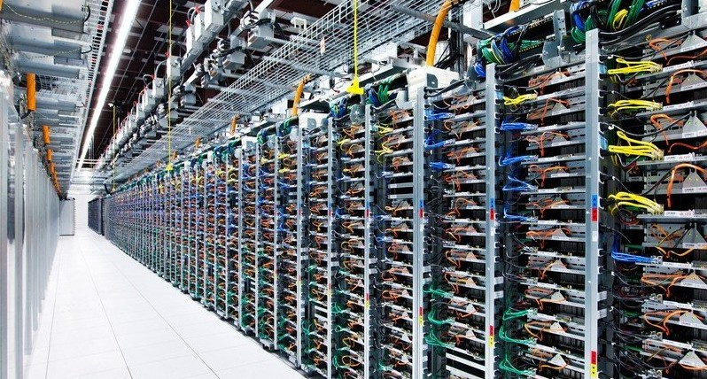 谷歌数据中心内部照片曝光