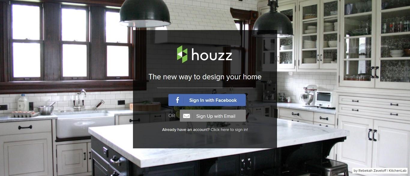 家装设计师对接平台houzz获$1.5亿融资