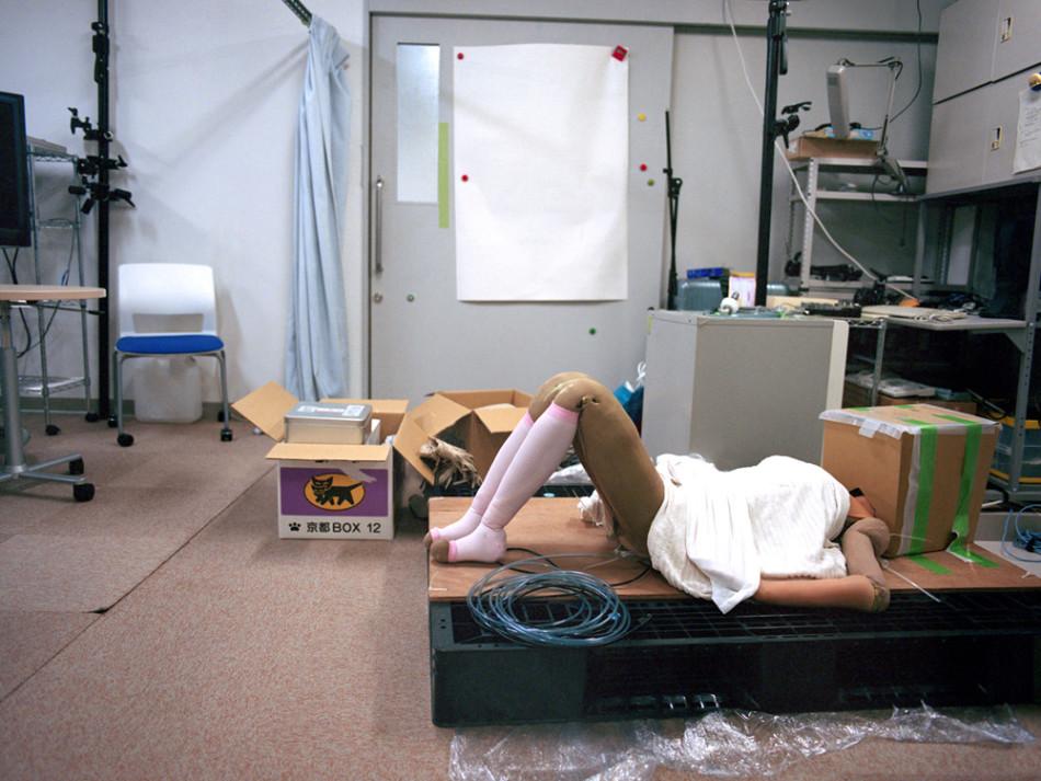探访日本类人机器人:制作自己的复制品(15)