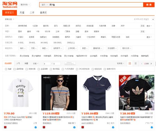 【七月·聚品资讯】女装淘宝综合排名入口排序又有变更