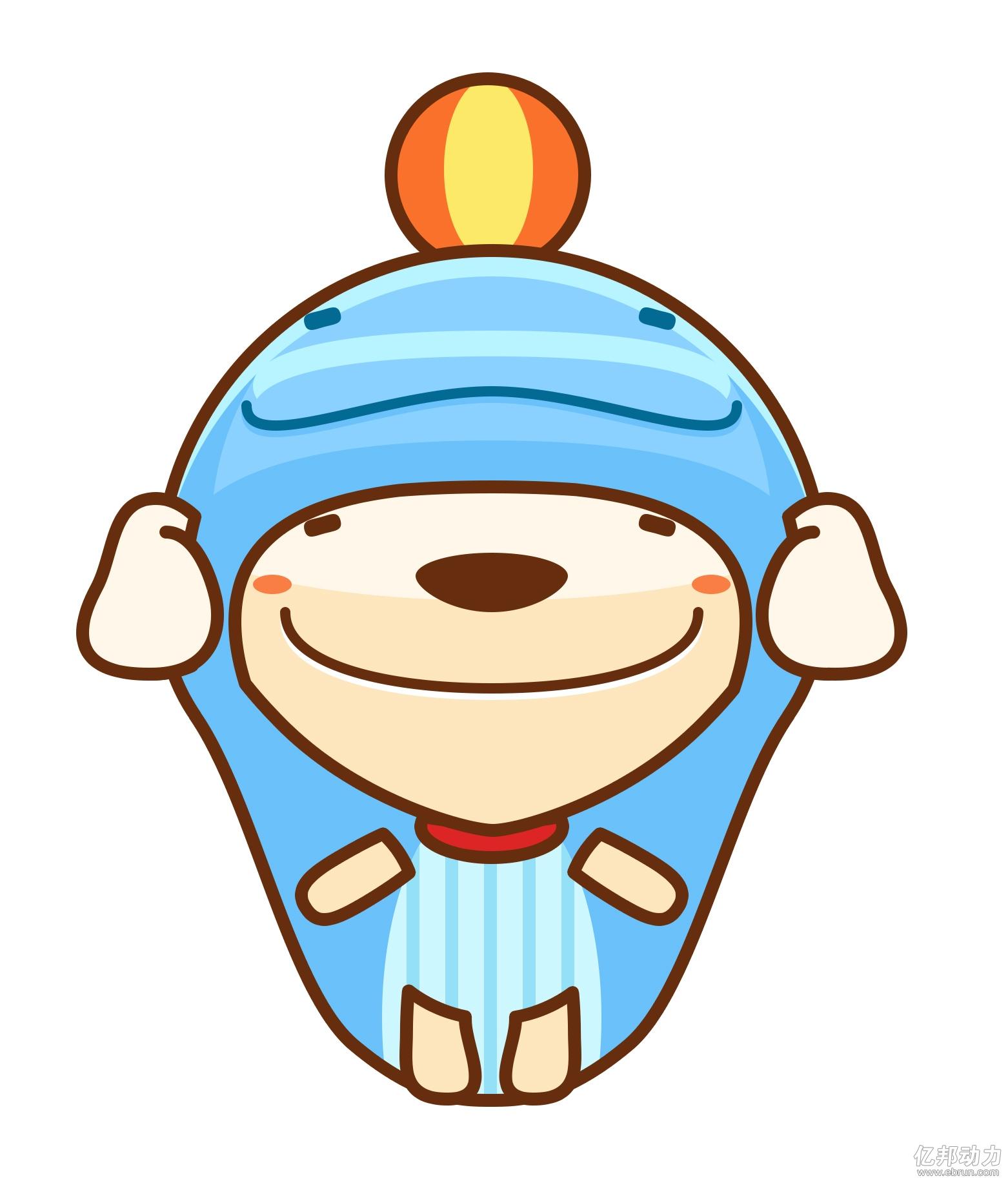 海囤日吉祥物海豚公仔图片