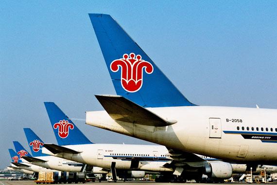 南方航空有多少架飞机