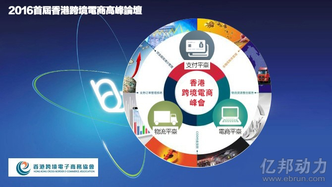 2016首届香港跨境电子商务高峰论坛亮相