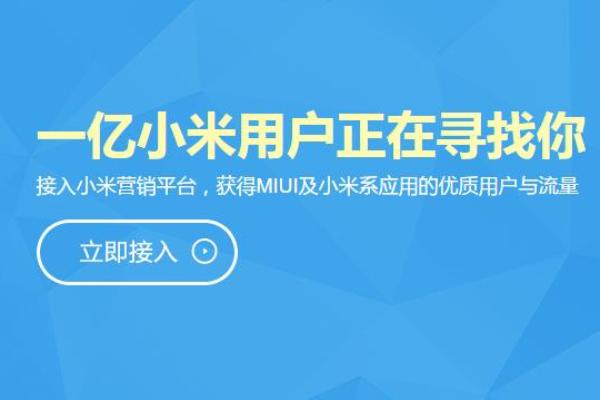 小米营销正式上线 miui光明正大卖广告