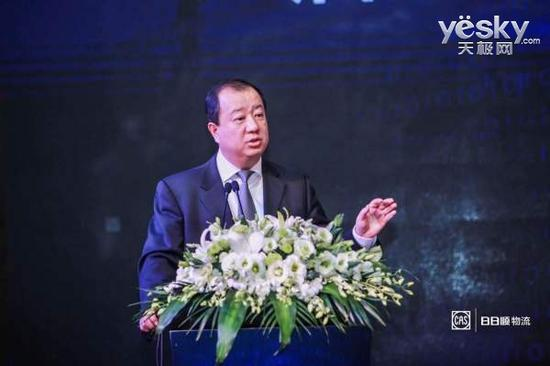中国标准化协会副理事长兼秘书长高建忠致辞
