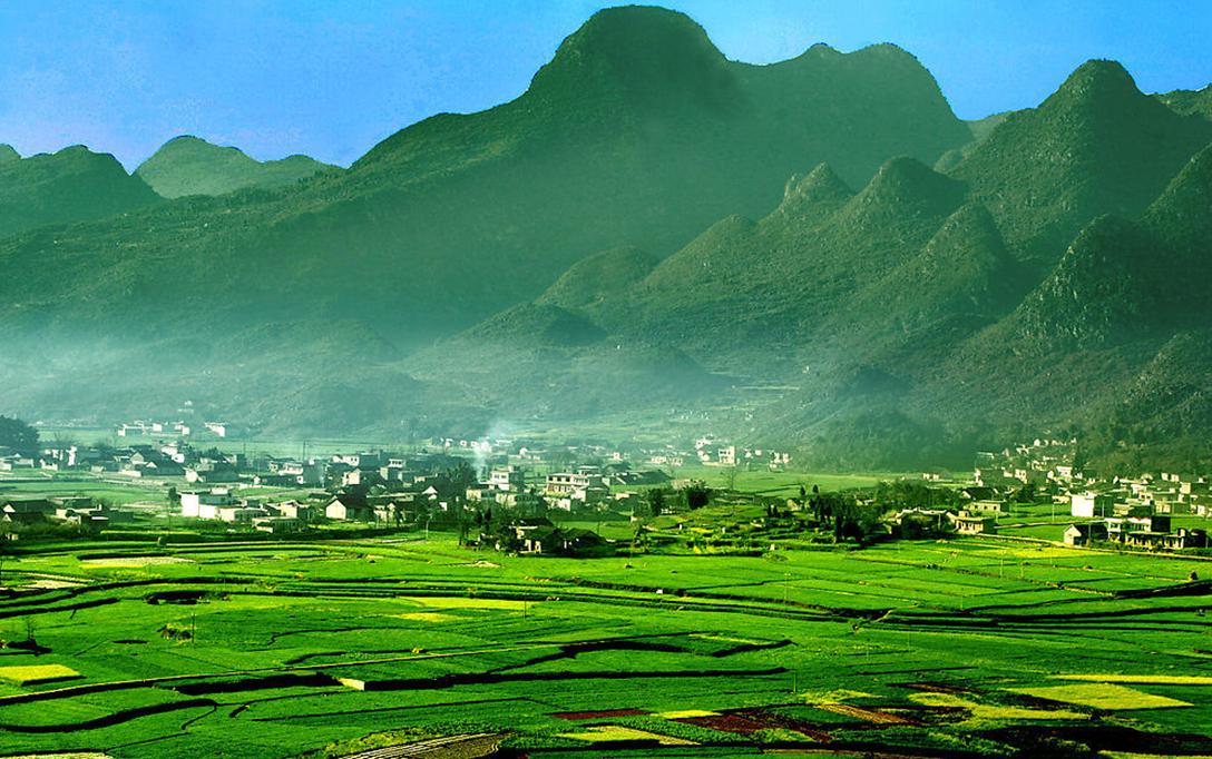大理普洱海边风景图片