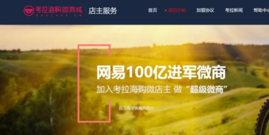 丁磊也开始做微商了,斥资100亿招募网易考拉微店主