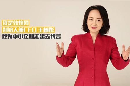 推广|王树彤:为中小企业走出去代言