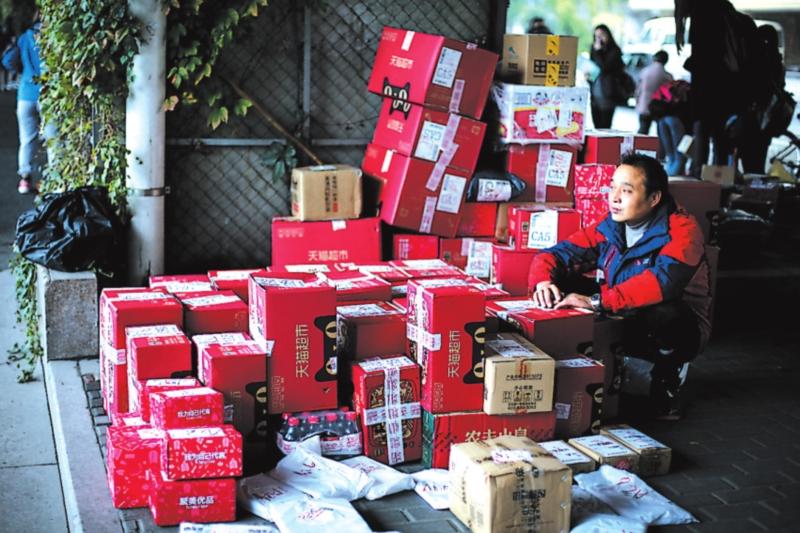 香港人民有福利,网购快递送到家