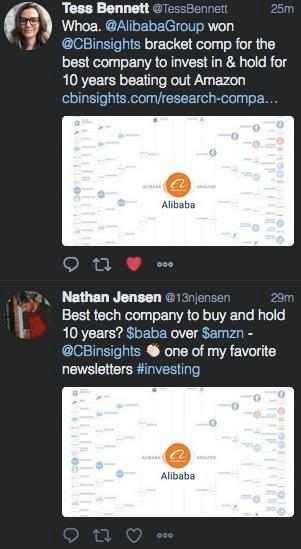 决赛结果引发美国网友纷纷恭喜阿里巴巴