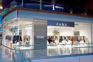 Zara开了一家只能线上购买的实体店