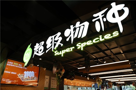 超级物种现身北京中关村 能刷脸支付