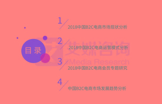 2018中国B2C电商大数据:中国移动电商用户预计达5.12亿